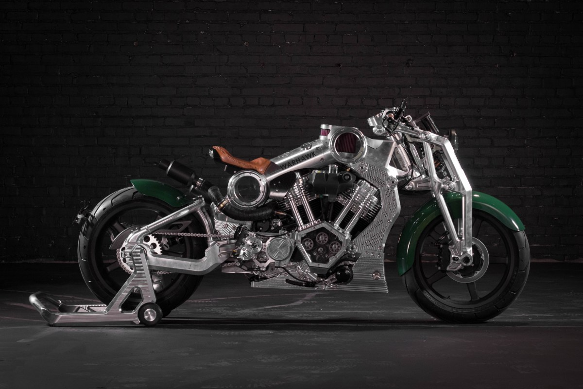 Curtiss Motorcycles Roars Back to Life with Exotic New V-Twin Warhawk